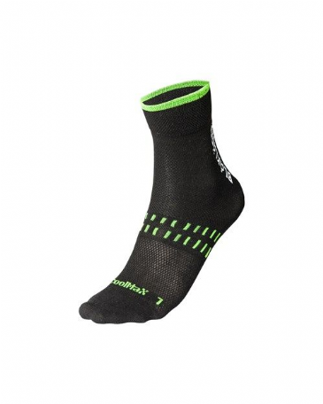Blaklader 2190 Dry Sock 2-Pack (Black/Neon Green)